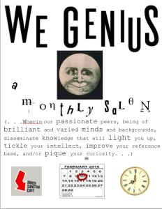 We Genius February